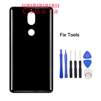 1PCS Genuine Original Black Gold Blue For Nokia 7 Nokia7 Back Battery Cover Lovain Housing Glass