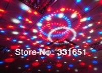Free Shipping 12 Pcs Carton DJ Light LED Crystal Magic Ball 6x3W RGBAW 5 Colors 6