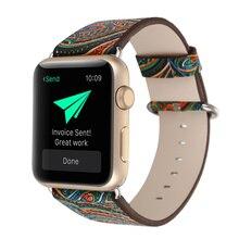 Браслет на ремне для Apple Watch кожаный стиль 1:1 для iWatch ремешок для Apple iWatch серии 2 3 4 ремешок 38 мм 40 мм 42 мм 44 мм