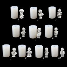 Artists Figure David Beethoven Head Plaster Silicone Mold Resin Casting DIY