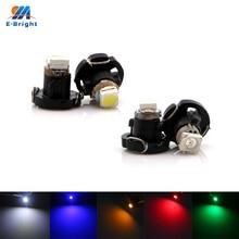 50pcs/lot T3 LED 1210 1 SMD Car Gauges Lights Auto Dashboard Instrument Light Dash Lamp Cluster Bulb for DC12V Free Shipping