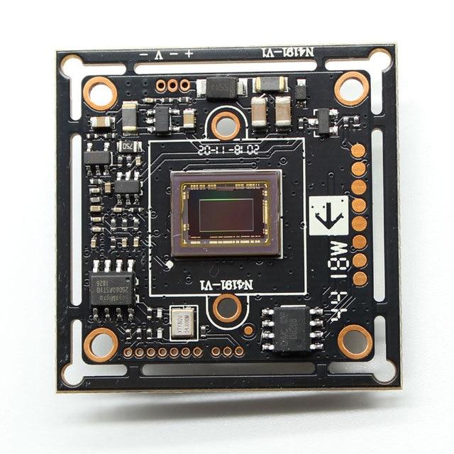 مصباح النجوم منخفض الإضاءة ، حجم 1lux NVP2441 + IMX307 HD 4 في 1 AHD TVI CVI CVBS 2mp CCTV وحدة كاميرا الأمن PCB لوحة 1080P