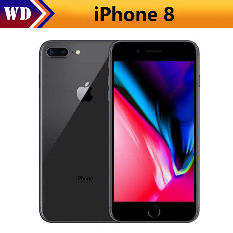"Original Apple iPhone 8 2GB RAM 64GB/256GB Hexa-core IOS 3D Touch ID LTE 12.0MP Camera 4.7"" inch Apple Fingerprint 1821mAh(China)"