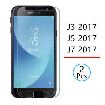 2pcs Tempered Glass for samsung j3 j5 j7 2017 Protective Glas Screen Protector phone Safety Tremp on the galaxy j 3 5 7 3j 5j 7j image
