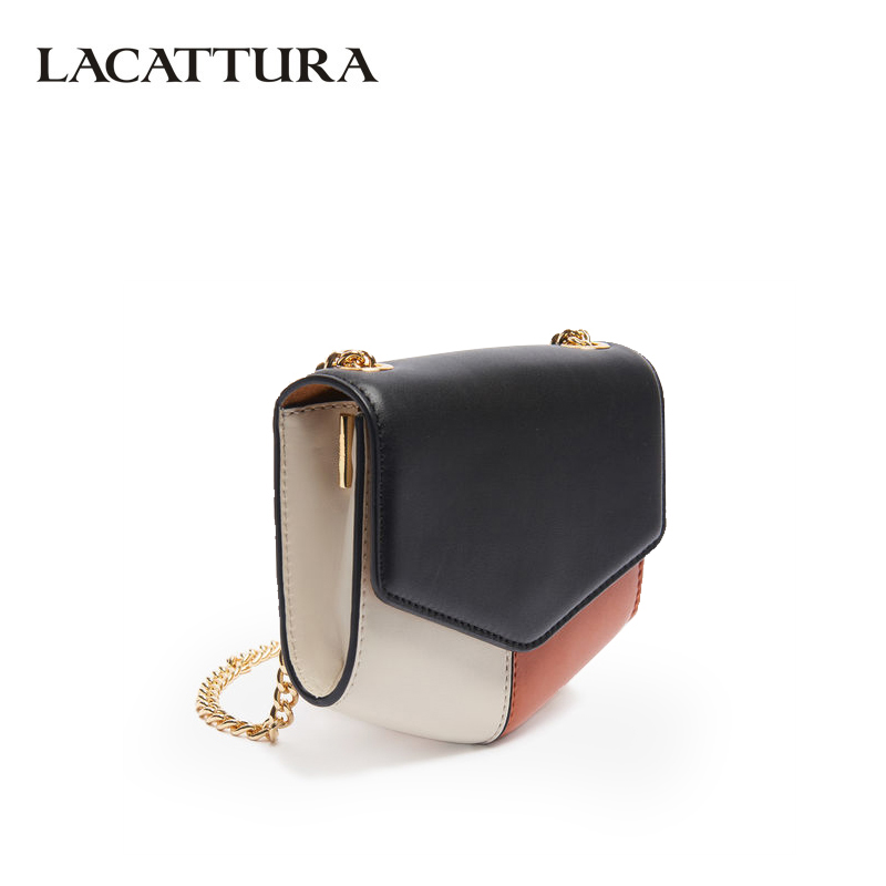 LACATTURA Small Flap Women Messenger Bags Split Leather Designer Shoulder Bag Lady Lovely Summer Clutch Crossbody Bag for Women lacattura small bag women messenger bags split leather handbag lady tassels chain shoulder bag crossbody for girls summer colors