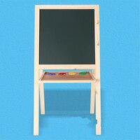 TANGRAM деревянная игрушка фотография доска, Двусторонняя доска для рисования Магнитная Поддержка доска для рисования можно поднять и рельефн