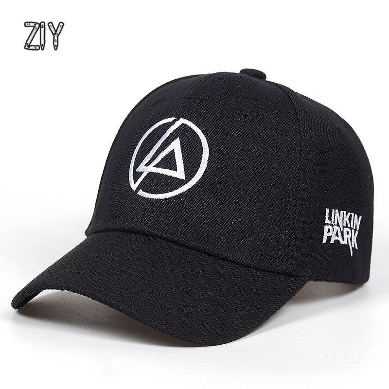 LINKIN PARK letter   baseball     cap   for a boy men rapper hip hop streetwear snapback bone   baseball     cap   unisex couples trucker   cap