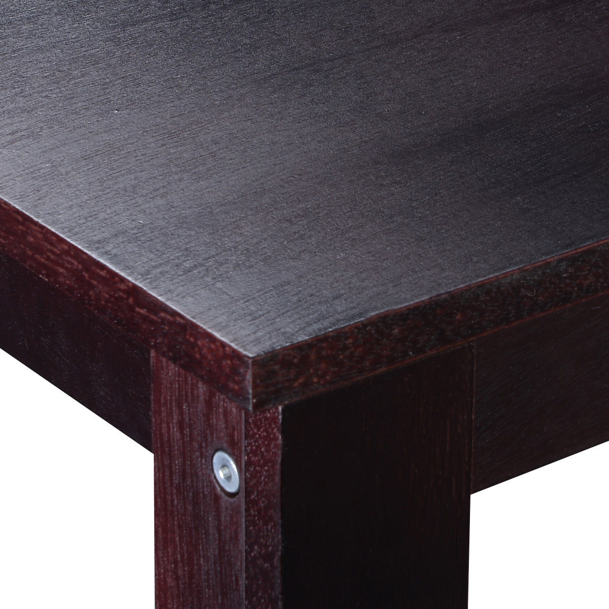 Giantex 2PC Sofa Chair Side Table Wooden End Coffee Table ...