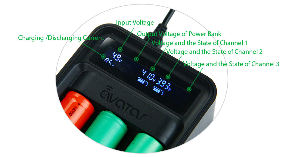 Avatar Intelligent Battery Digicharger Kit 4