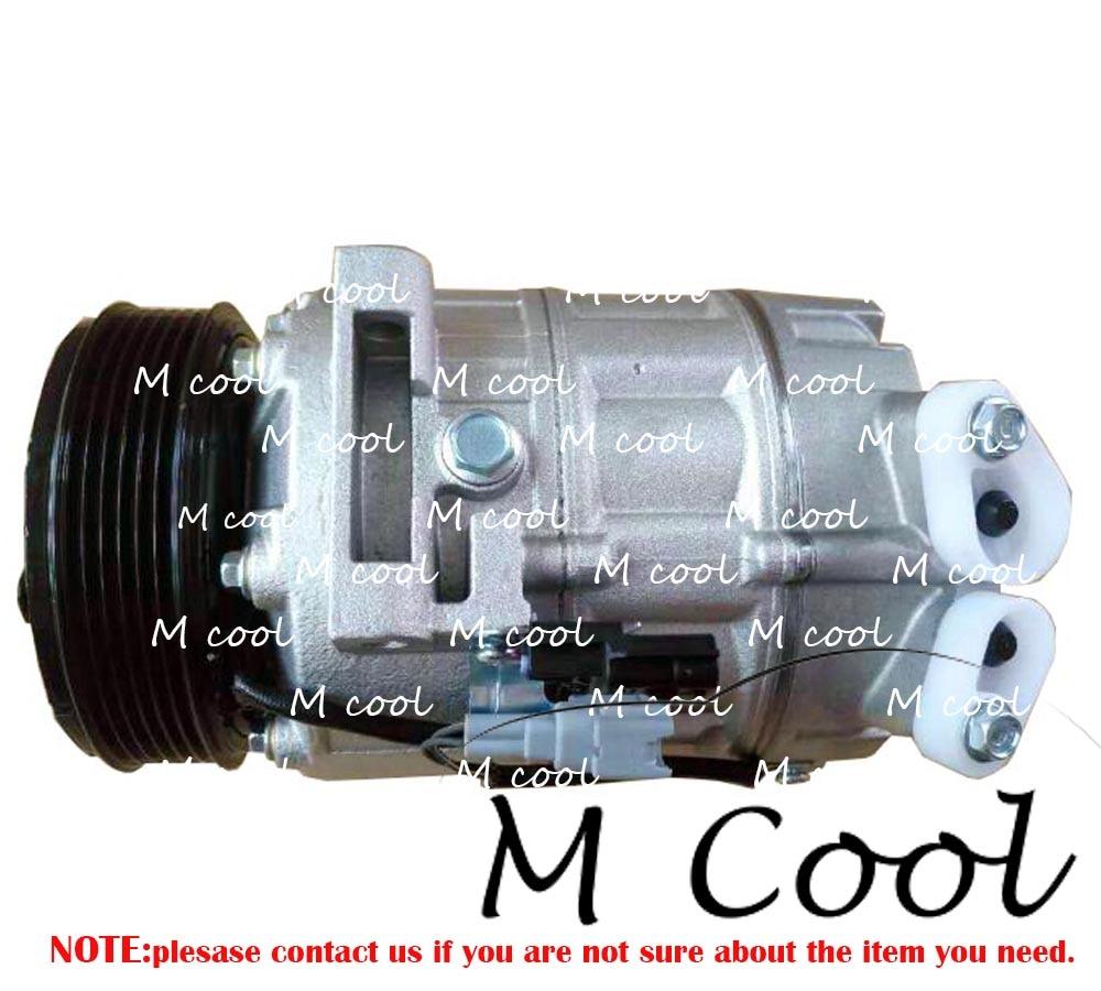 High Quality New Auto AC Compressor For Car Nissan X-Trail T31 2005-2009 The MR20DE Engine 2.0L Air Conditioning Compressor new air conditioning compressor 20y 810 1260 for new pc200 8 pc220 8