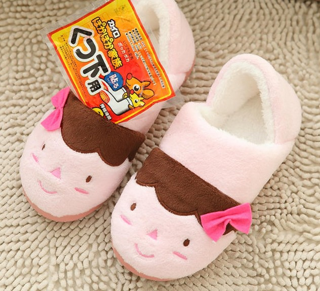 1cf78a3965da Panda Slippers Girls Cartoon House Shoes Winter Foot Warmer Indoor Cotton  Footwear 3 Types 2 Size Fit EUR 37 40 US 6.5 9-in Slippers from Shoes on ...