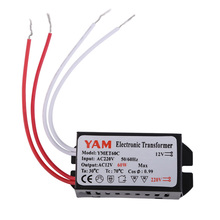 High Quality Lighting Transformers AC220V to 12V 60W Electronic Transformer Driver for G4 Halogen Lamp Bulb DIY Parts AA