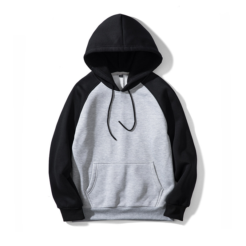 ZOGAA 2019 New Fashion Men Hoodie Street Tide Brand Male Hooded Jacket Multi-Color Couple Hooded Color Matching Men's Sweatshirt