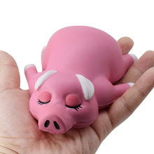Antistress Elastic Environmentally PU Cat Antistress Stress Stretch Jumbo Pig Slow Rising Squishies Toys(China)