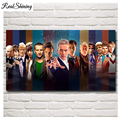 REALSHINING 3D Diy Piazza Diamante Ricamo Doctor Who Televisione Croce Resina Punto Pieno Pittura Diamante 5d Grande formato FS1623