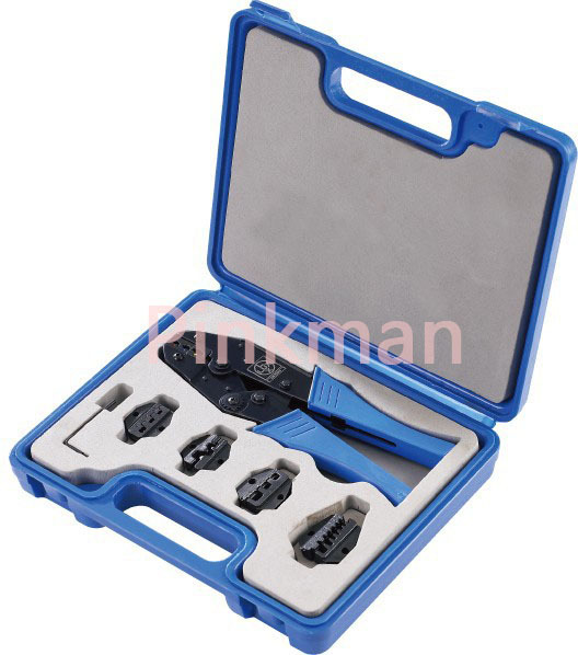 LY03C-5D3 COMBINATION TOOLS IN PLASTIC BOX  crimping pliers 4 DIE SETS ly05h 5a2 mini combination tools pack for coaxial cable and wire in plastic box