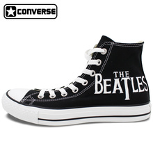 The Beatles Converse All Star Women Men Sneakers Boys Girls Hand Painted Shoes Custom Design Skateboarding Shoes Valentine's Day