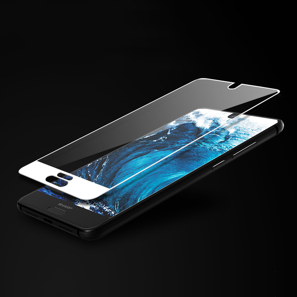 Image 5 - JONSNOW Full Coverage Glass For Sharp Aquos S2 Tempered Glass for Aquos C10 9H Explosion proof Screen Protector Protective Film-in Phone Screen Protectors from Cellphones & Telecommunications
