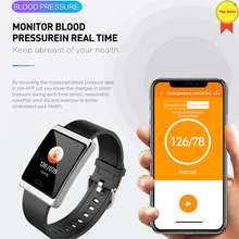 Smart Bracelet Color Screen Blood Pressure Fitness Tracker Heart Rate Monitor Smart Band Sport for Android IOS pk mi band 4 mi3 2018 p3 smart wristband bracelet color screen blood pressure fitness tracker heart rate monitor smart band sport for android ios