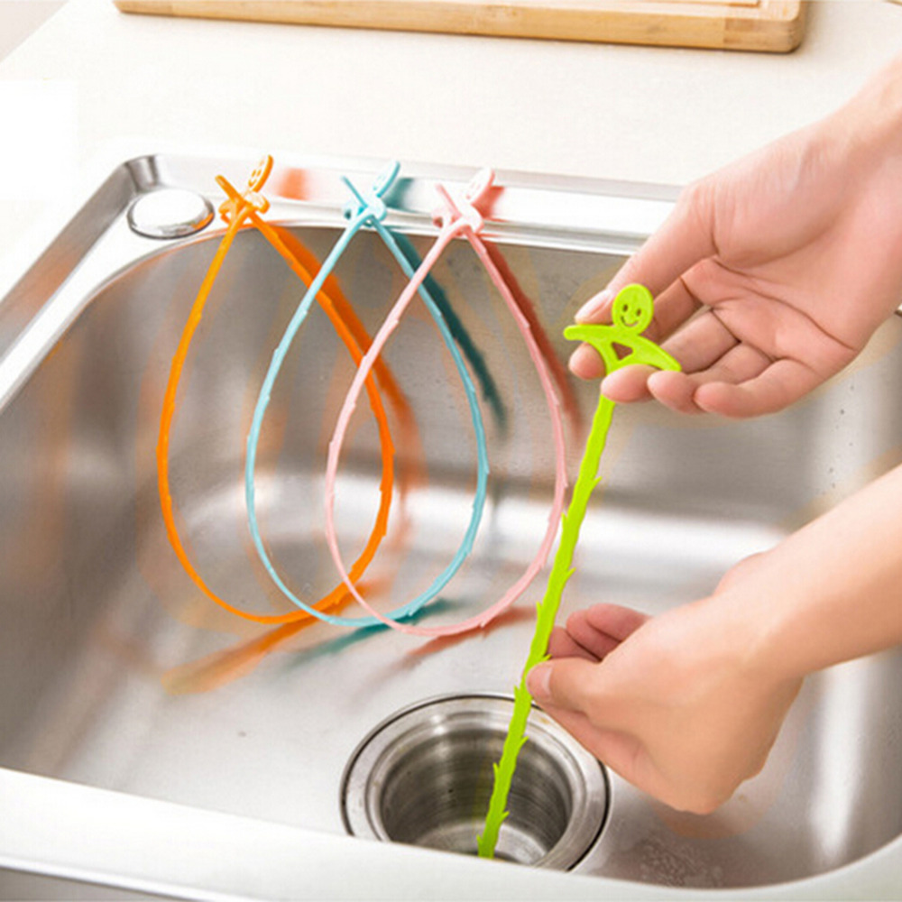 1Pc Drain Snake Clog Remover Sink Hair Tool Removal Cleaner Economic Tool,