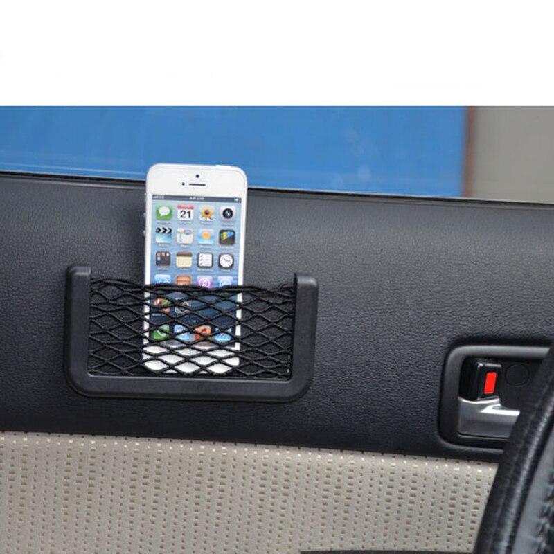 Автомобильное сиденье Youwinme, боковое заднее хранилище, Сетчатая Сумка, универсальный автомобильный держатель для заднего сиденья телефона, ...