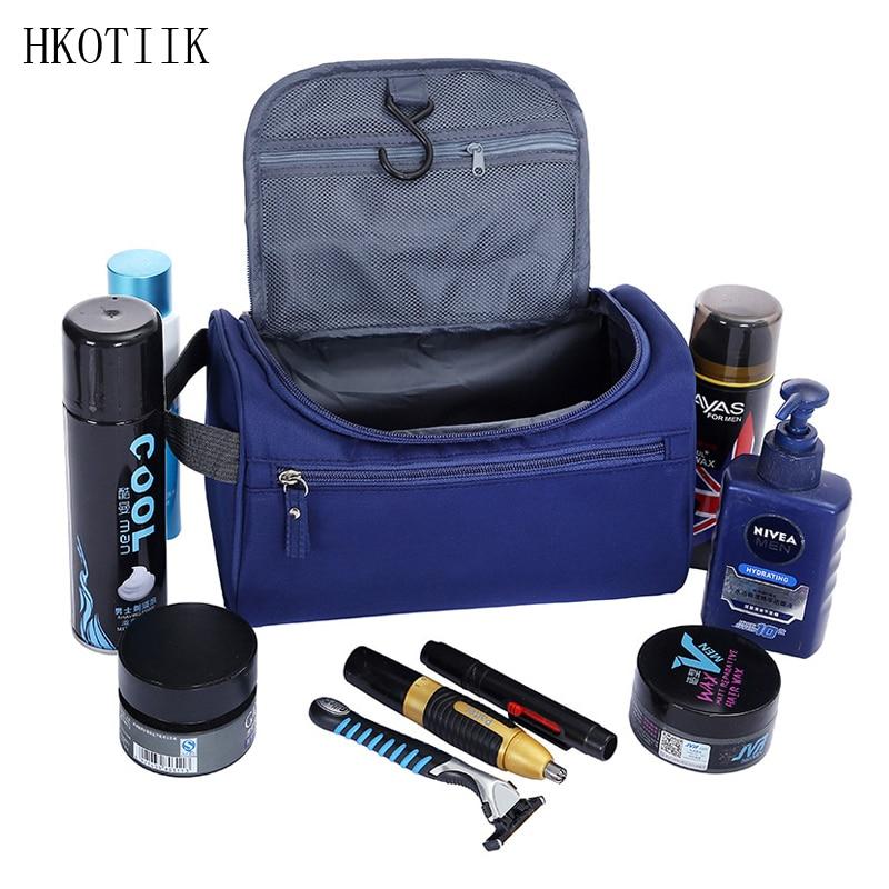 HKOTIIK Waterproof Large Capacity Men & Women Cosmetics Cosmetic Bag Organizer Travel necessities Storage Bag Hand Wash Bags