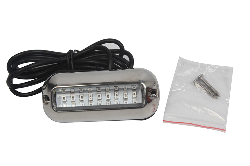 27LED Stainless Steel Underwater Light 12V Marine Boat Yacht Light Waterproof Lamp-in Marine Hardware from Automobiles & Motorcycles