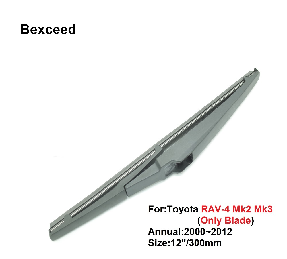 12 305mm bexceed of rear rain window windshield rear wiper blade for for toyota