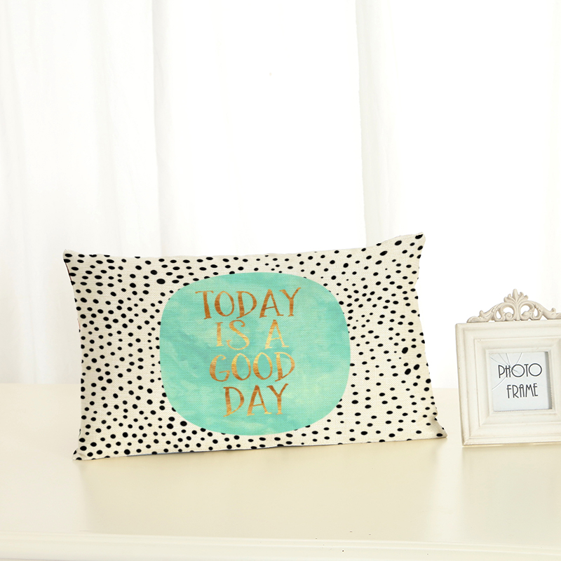 New <font><b>Pillow</b></font> <font><b>Case</b></font> <font><b>30x50</b></font> <font><b>Pillow</b></font> Cover Clan Text Ornamentation Cushion Cover for Sofa Home Decoration Lumbar <font><b>pillow</b></font> Pillowcase image