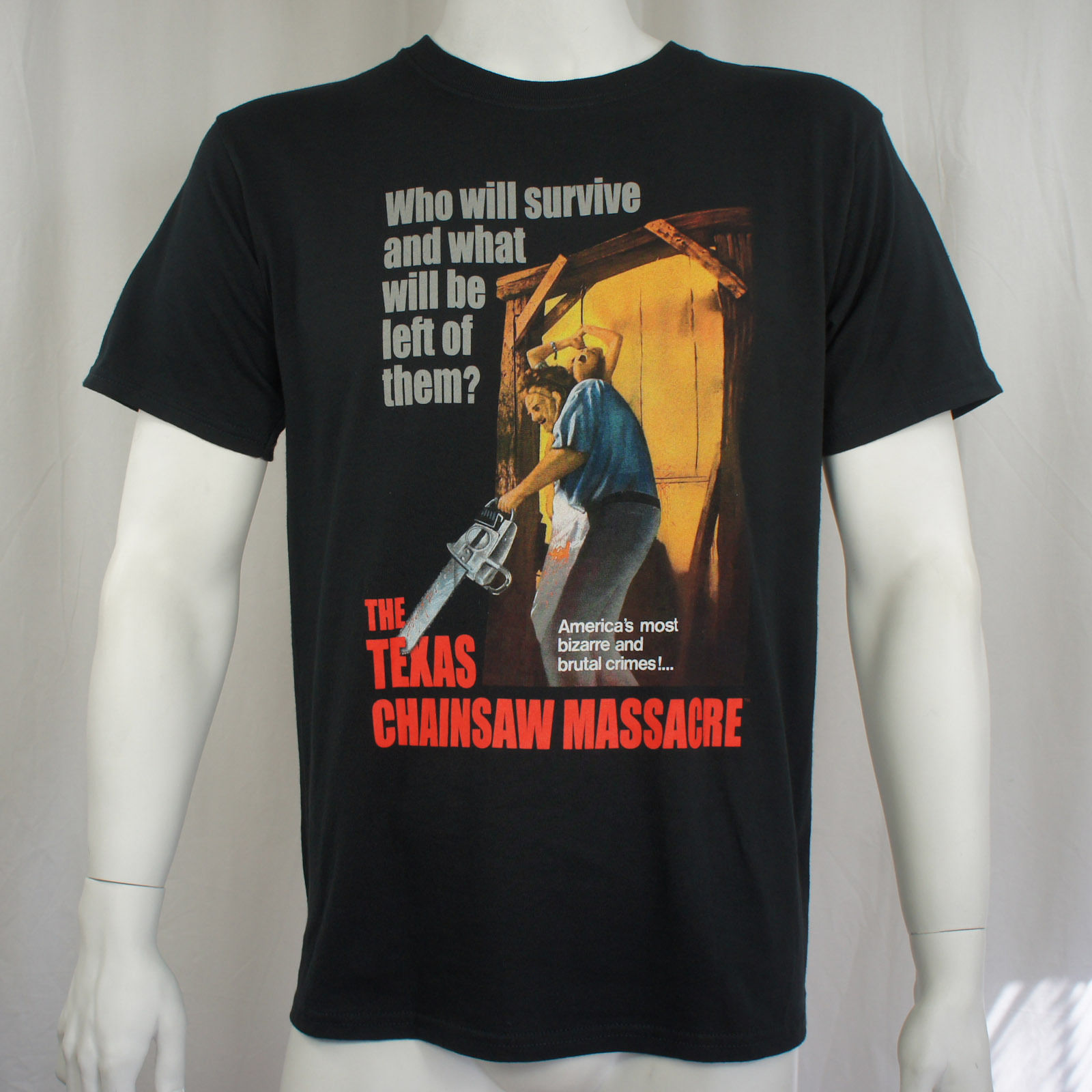 2017 Newest Men'S Funny Authentic TEXAS CHAINSAW MASSACRE Movie Poster T-Shirt S M L XL XXL Official NEW