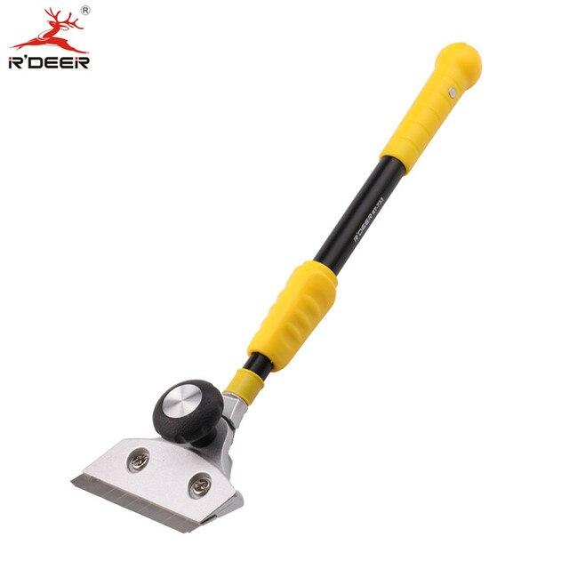 RDEER Clean Shovel Knife Telescopic Handle For Glass Floor Tiles ...