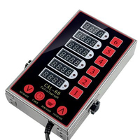 kitchen six calculagraph 6 channels timer reminder stopwatch commercial use kitchen multi channels timer