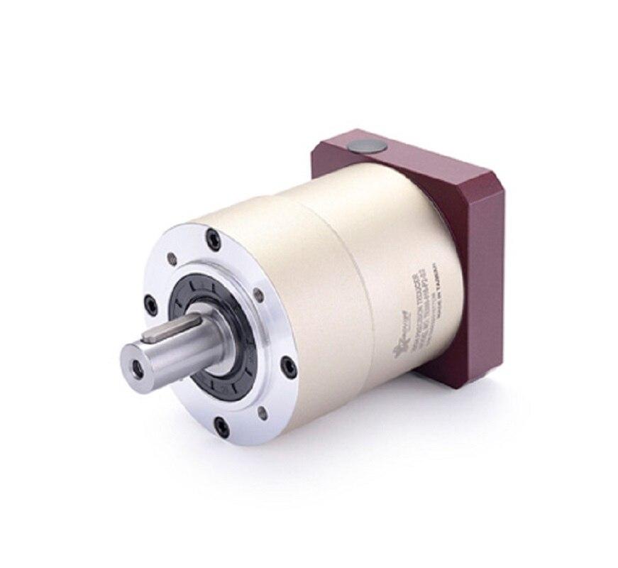 60 круглый фланец цилиндрический редуктор планетарный редуктор 12 угл 15:1 до 100:1 для NEMA23 шаговый двигатель входной вал 8 мм