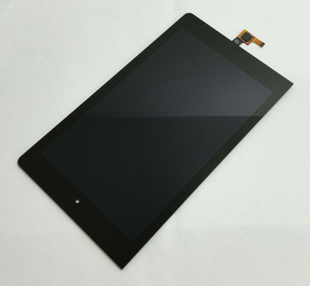 Full Touch Screen Digitizer Panel Sensor Glass + LCD Display Monitor Screen Panel Assembly For Lenovo Yoga Tablet 8 B6000 60044 lcd display panel screen monitor touch screen digitizer assembly parts for asus memo pad 8 me180 me180a k00l tablet pc