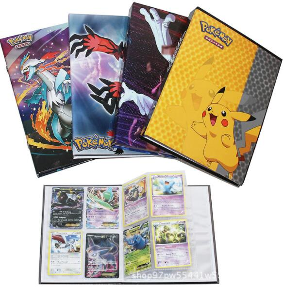 2019 New Large Capacity Cards Album Book For Pokemon Holder Album Pokemon Toys For 160 Cards Novelty Gift