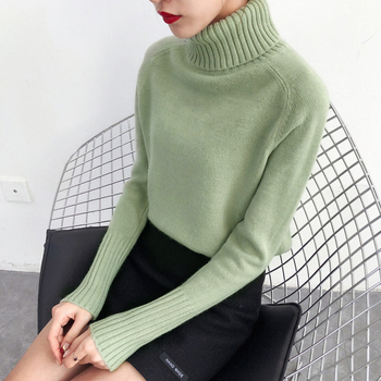 Turtleneck Long Sleeve Pullover 3