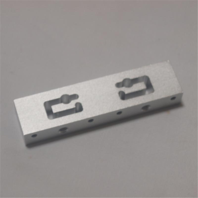 RepRap Replicator 2X 3D Printer hotend mout bar Aluminum Makerbot replicater 2x extruter bar