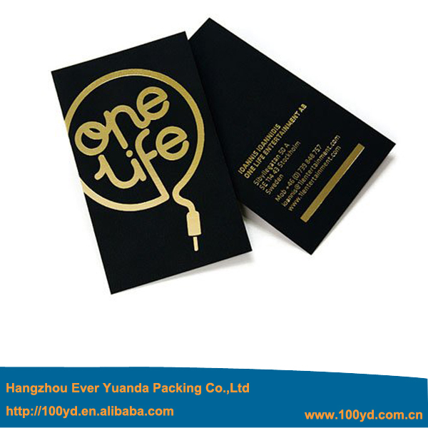 2016 new unique debossing business cards letterpress custom special 2016 custom gold stamping business cards print 600gsm black card paper visit card gold blocking 90 reheart Images