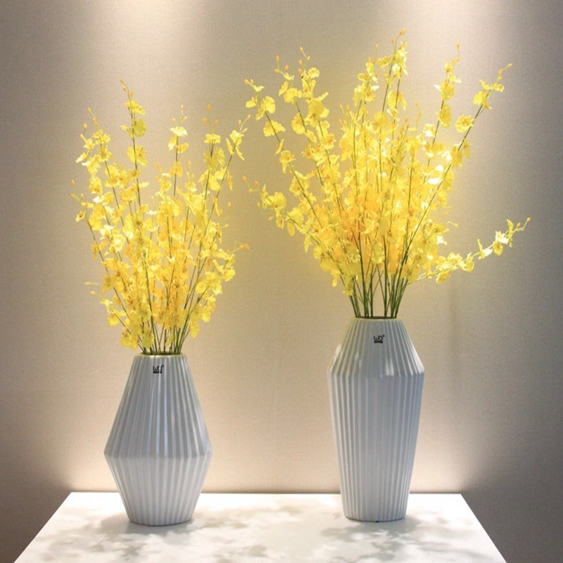 Artificial Fake Flower Simulation Oil Paiting 11 Head Silk Flowers Posy Desktop Wedding Houseware Home Decoration Without Vase