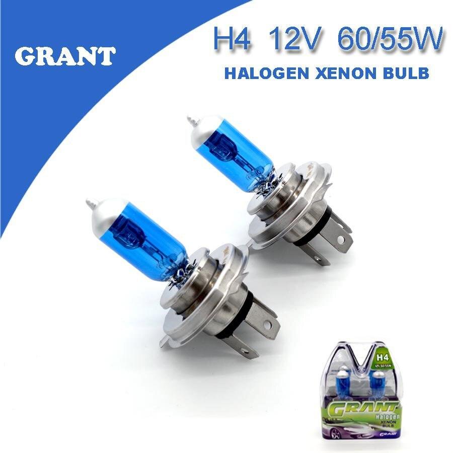buy grant 1set h4 12v 60 55w halogen. Black Bedroom Furniture Sets. Home Design Ideas