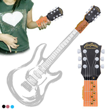 Portable Mini Music Inspiring Infrared Air Guitar Kids learning&exercising type Acoustic Instrument Educational Toys