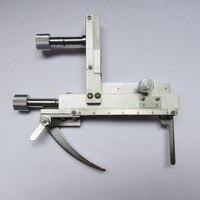 Total de Metal Mecânica Universal Movable Stage com XY Movimento Direção para Microscópio Biológico Composto com Leitura de Escala