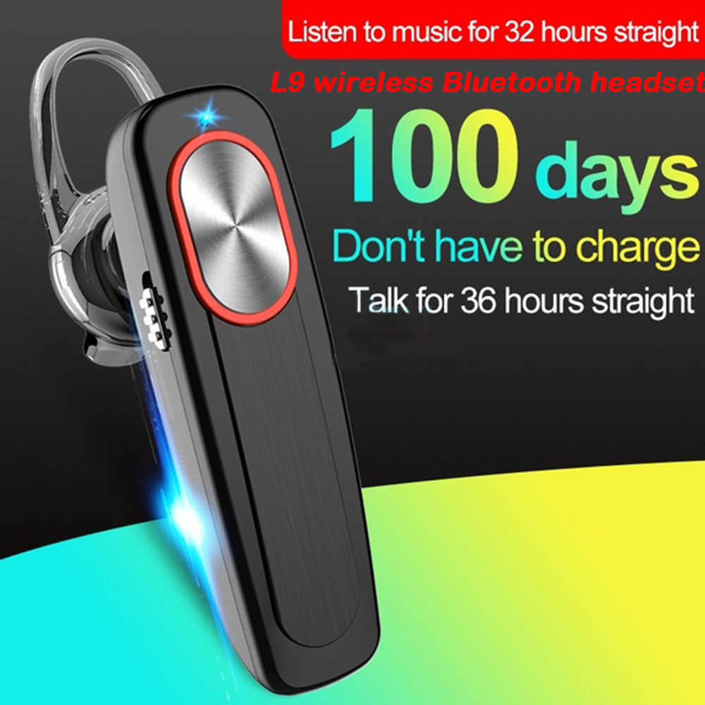 L9 Bluetooth Headset Hands Free Earphone Wireless Headset Mini Earbuds Handsfree Bluetooth Earpiece With Mic For Iphone Phone Aliexpress