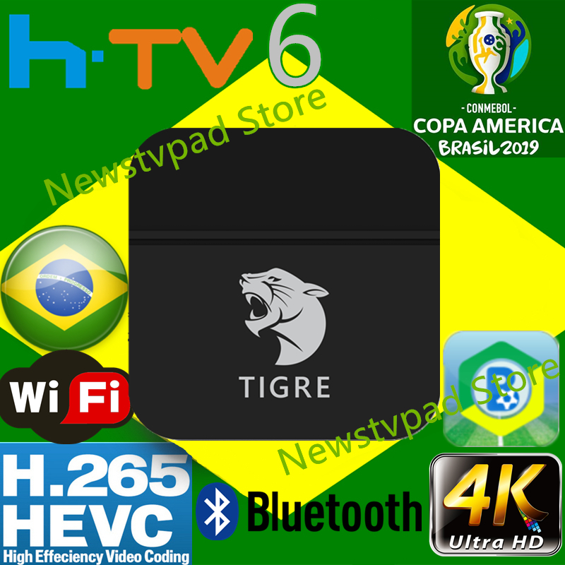 htv box 5 Tigre tv BOX HTV BOX HTV6 BTV Brazilian Portuguese TV
