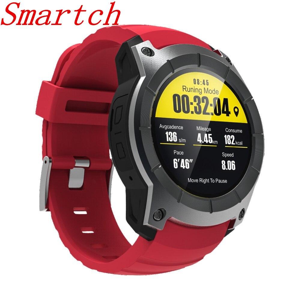 696 2017 Nuovo S958 GPS Sport All'aria Aperta Orologio Intelligente IP66 Vita Impermeabile Heart Rate Monitor Misuratore di Altitudine di Pressione per Android