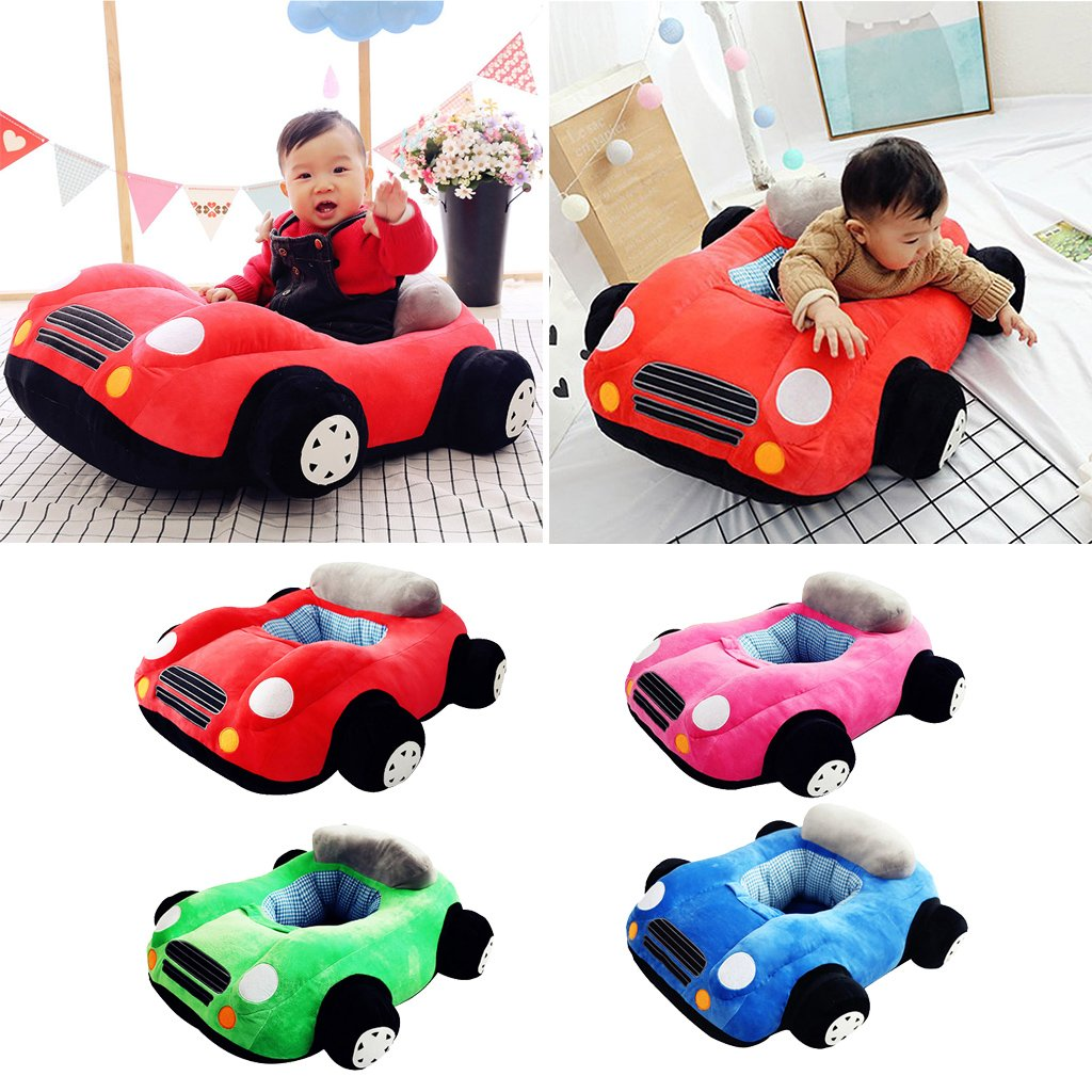 Baby Seats Sofa Car Soft Plush Sitting Chair Support Seat Learning To Sit Toys Birthday Gift for Children Kids Toddler