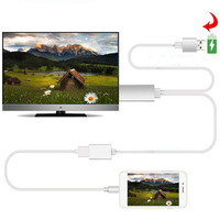 8 Pin To HDMI Cable HDTV TV Digital AV Adapter Hdmi Cable Iphone To Tv For