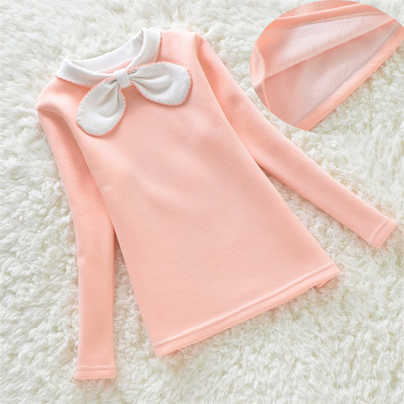 BibiCola Girls Clothing 2018 Winter Pullover Children Sweaters Girls Long Sleeve Outerwear O-neck Kids Clothes 4 color 3-8Y bear leader girls dress 2018 winter pullover knitted sweaters ball gown dress long sleeve outerwears o neck kids knitwear 3 7y