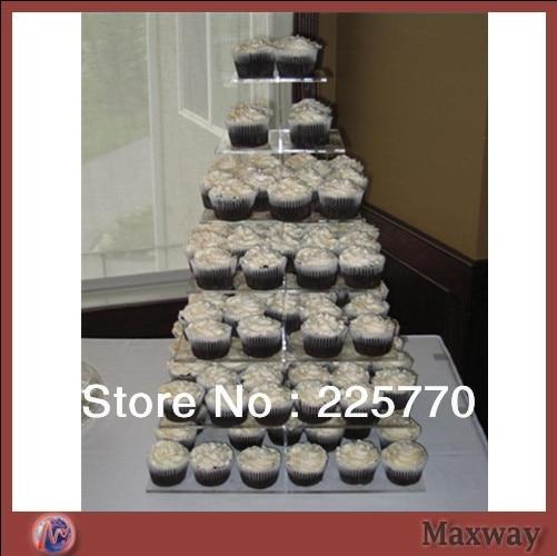 Free shopping 7 Tier Acrylic wedding Cupcake StandFree shopping 7 Tier Acrylic wedding Cupcake Stand