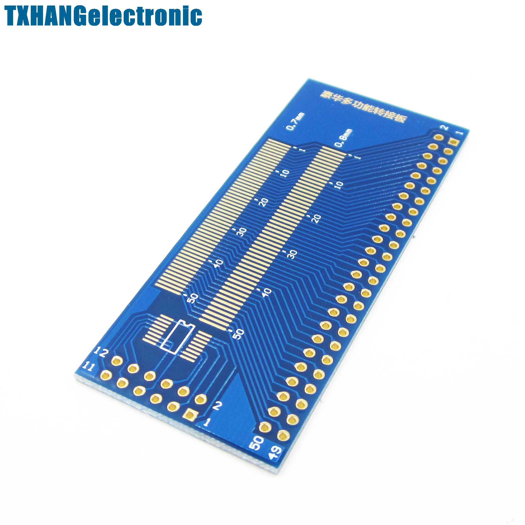 Multiple 0.5//0.7//0.8//1.0mm Pitch TFT LCD LCM Adapter Board FPC Board Test Board